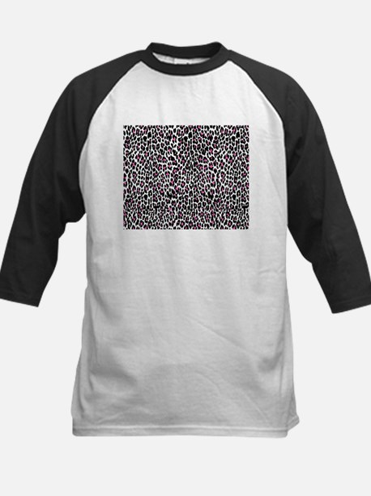 pink leopard print Baseball Jersey