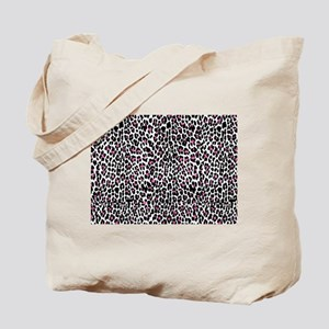 pink leopard print Tote Bag