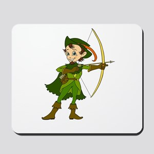 Let's Go Medieval - Forest Archer Mousepad