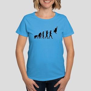 Skiing Evolution Women's Classic T-Shirt