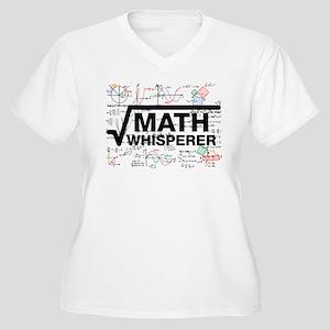math whisperer Plus Size T-Shirt