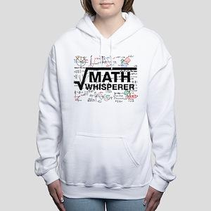 math whisperer Women's Hooded Sweatshirt