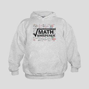 math whisperer Kids Hoodie