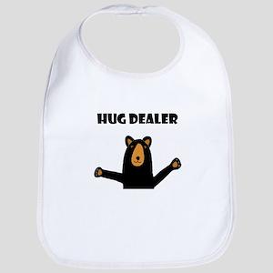 Fun Hug Dealer Bear Bib