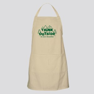 Think Outside No Box Required Apron