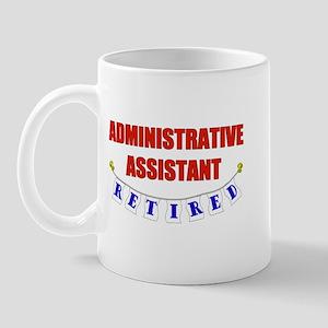 Retired Administrative Assist Mug