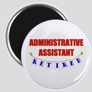 Retired Administrative Assist Magnet