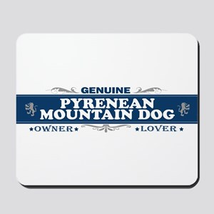 PYRENEAN MOUNTAIN DOG Mousepad
