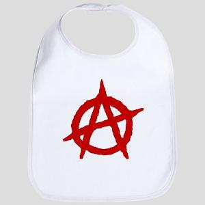 Anarchist Symbol Bib