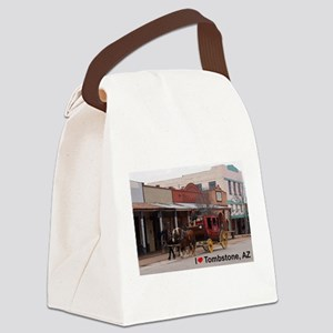 I love Tombstone Canvas Lunch Bag