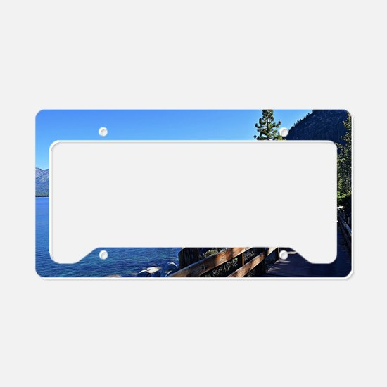 Cute Lake tahoe License Plate Holder