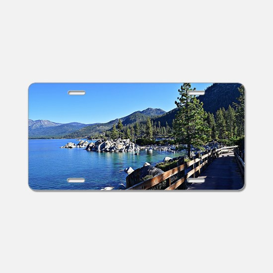 Cute Lake tahoe Aluminum License Plate