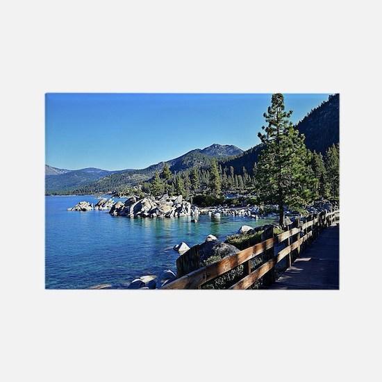 Cute Lake Rectangle Magnet