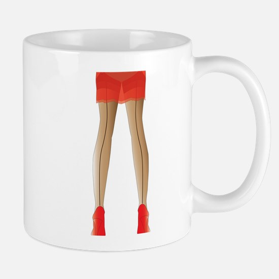 Stocking Legs Mugs