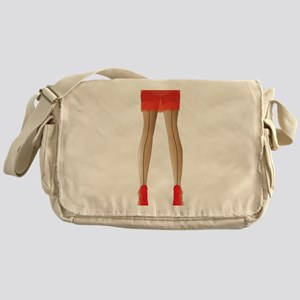 Stocking Legs Messenger Bag