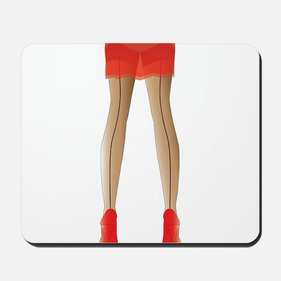 Stocking Legs Mousepad