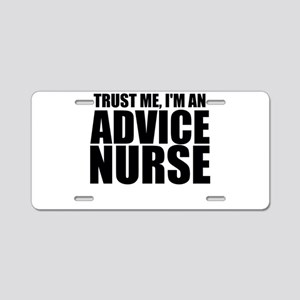 Trust Me, I'm An Advice Nurse Aluminum License