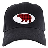 Bear Baseball Cap with Patch