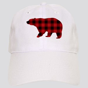 lumberjack buffalo plaid Bear Cap
