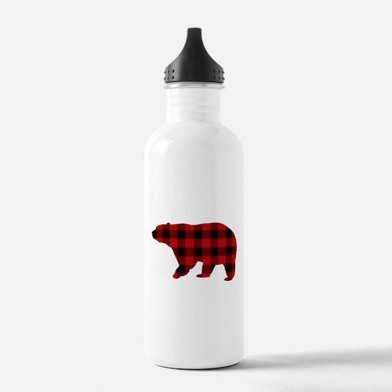 lumberjack buffalo pla Water Bottle