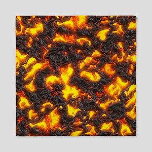 Hot Lava Queen Duvet