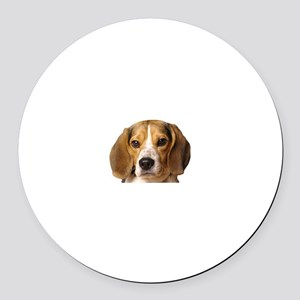 Beagle Round Car Magnet