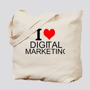 I Love Digital Marketing Tote Bag