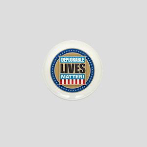 Deplorable Lives Matter Mini Button
