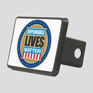 Deplorable Lives Matter Rectangular Hitch Cover