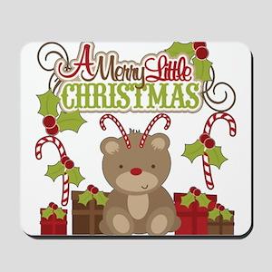 A Merry Little Christmas Mousepad