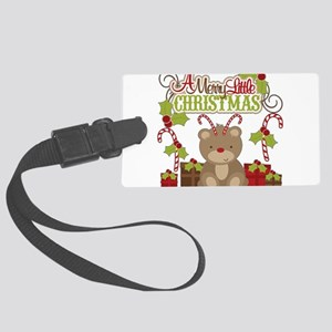 A Merry Little Christmas Luggage Tag