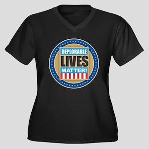 Deplorable Lives Matter Plus Size T-Shirt