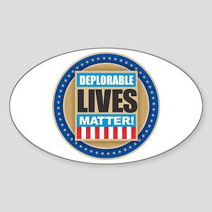 Deplorable Lives Matter Sticker