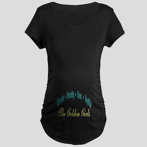 Blanche Dorothy Rose Sophia Maternity Dark T-Shirt