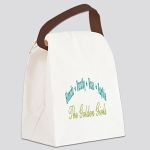 Blanche Dorothy Rose Sophia Canvas Lunch Bag