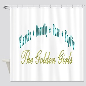 Blanche Dorothy Rose Sophia Shower Curtain