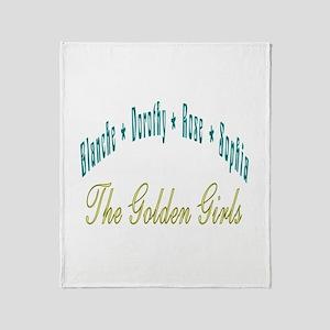 Blanche Dorothy Rose Sophia Throw Blanket