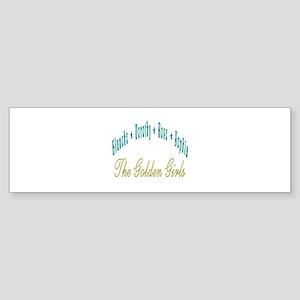 Blanche Dorothy Rose Sophia Sticker (Bumper)
