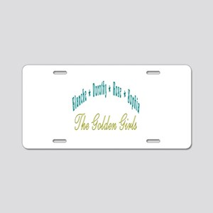 Blanche Dorothy Rose Sophia Aluminum License Plate