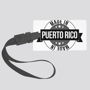 Made in Puerto Rico Luggage Tag