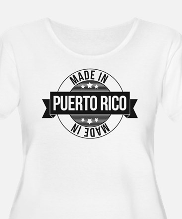 Made in Puerto Rico Plus Size T-Shirt