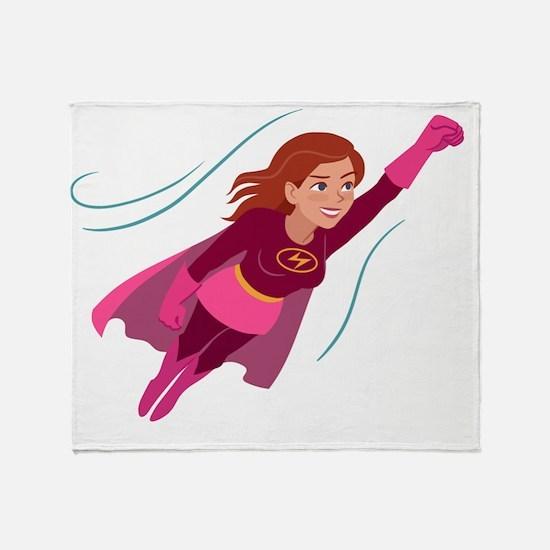 Unique Wonder woman Throw Blanket