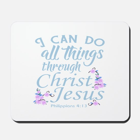 Philippians 4-13 Mousepad
