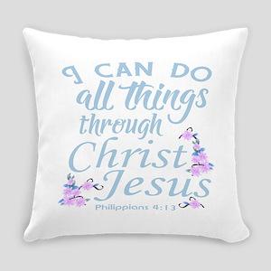 Philippians 4-13 Everyday Pillow