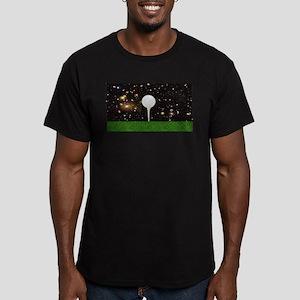Golf Galaxy Men's Fitted T-Shirt (dark)