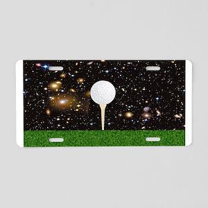 Golf Galaxy Aluminum License Plate