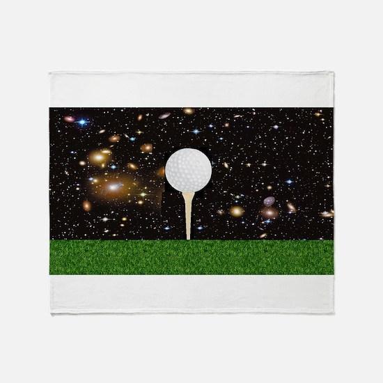 Golf Galaxy Throw Blanket