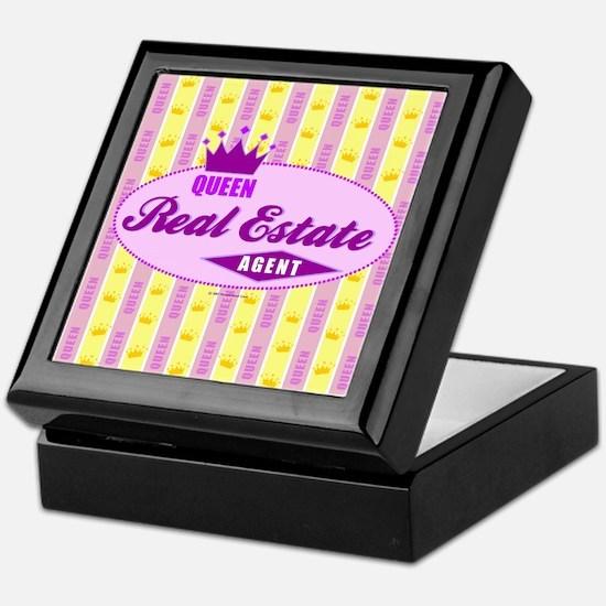RETRO QUEEN (Purple) Keepsake Box