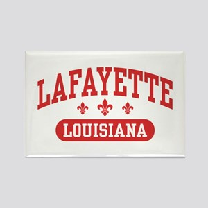 Lafayette Louisiana Rectangle Magnet
