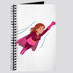 Superhero woman Journal